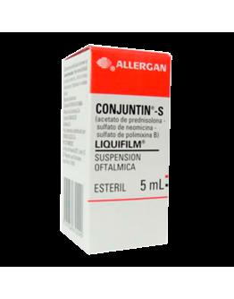 Conjuntin-s liquifilm suspension oftalmica x 5ml