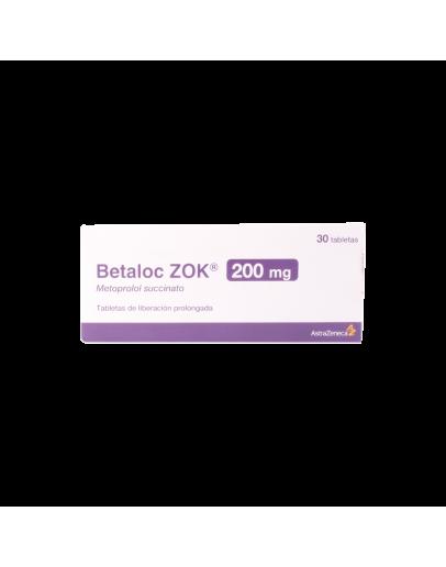 Betaloc Zok 200mg x 30com