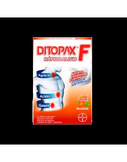 Ditopax F naranja x 25 tab