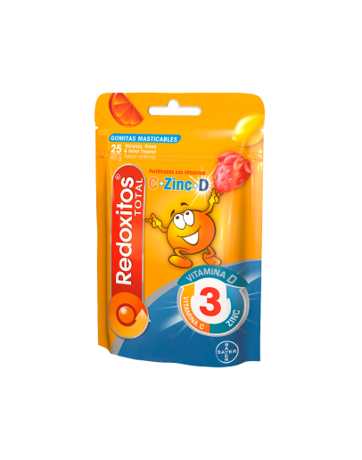 Redoxitos total gomas x 25 und