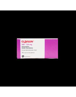 Clavulin 500-125 mg caja x 14 tabletas