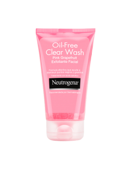 Gel exfoliante Neutrogena facial oil x 124ml