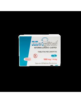 Metglital 1000Mg/4Mg Caja X 30 Tabletas