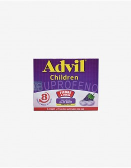 Advil Children Masticable Uva Caja X 12 tab