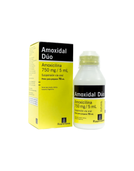 Amoxidal Duo Suspension 70 ml