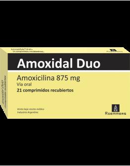 Amoxidal Duo Comprimidos
