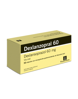 Dexlanzopral 60 mg caja x 30 cap
