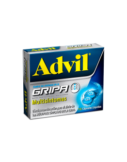 Advil Gripa multisíntomas caja x 10cap