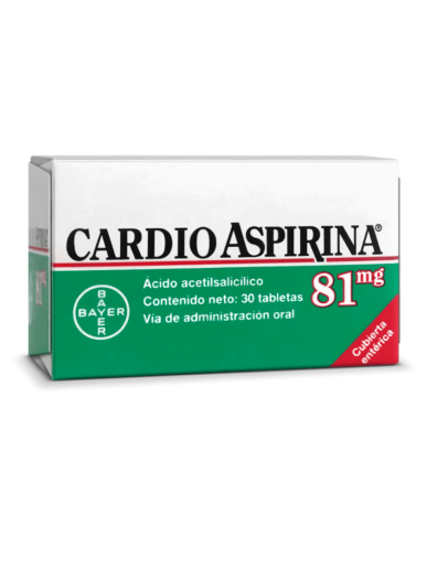 Cardio aspirina 81mg