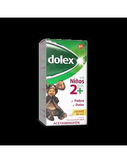 Dolex Jarabe para niños 2+ 160mg