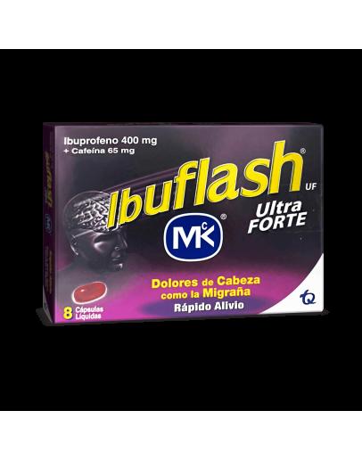 Ibuflash ultra forte cápsulas 400+65 mg